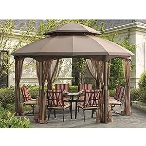 Sunjoy 110109164patrimonio parte superior de cúpula de con cenador de repuesto Set