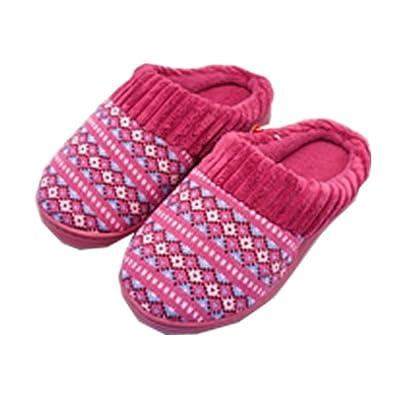 Amazon Xuzirui Womens Sweater Knit Memory Foam House Slippers