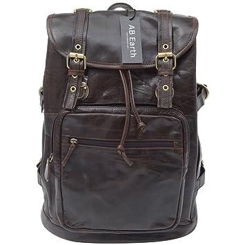 Ropa es mochila Amazon Bolso M mujer café y AB Earth para marrón 1Hwxv