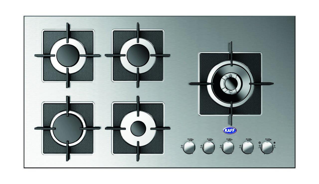 Buy KAFF Glass 5 Burner Hob KHN 905 HD (10 Years Warranty) Online at ...