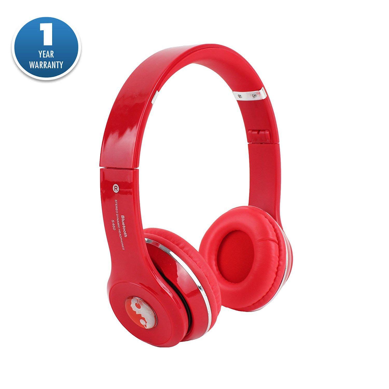 Amazon.com: S460 auricular bluetooth inalámbrico sobre la ...