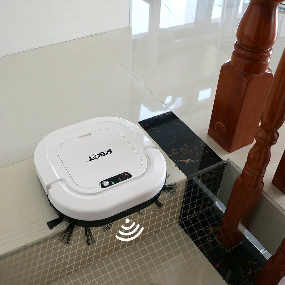VBOT G270 3 en 1 Robot Aspirador y Fregasuelos, Ultra Fino Slim, con Auto-carga y Control Remoto, Diseñado para el Cabello de Mascotas: Amazon.es: Hogar