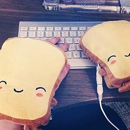 Toast USB Handwarmers - Wired or Wireless - Butta, Tato, Crisp, Ryry