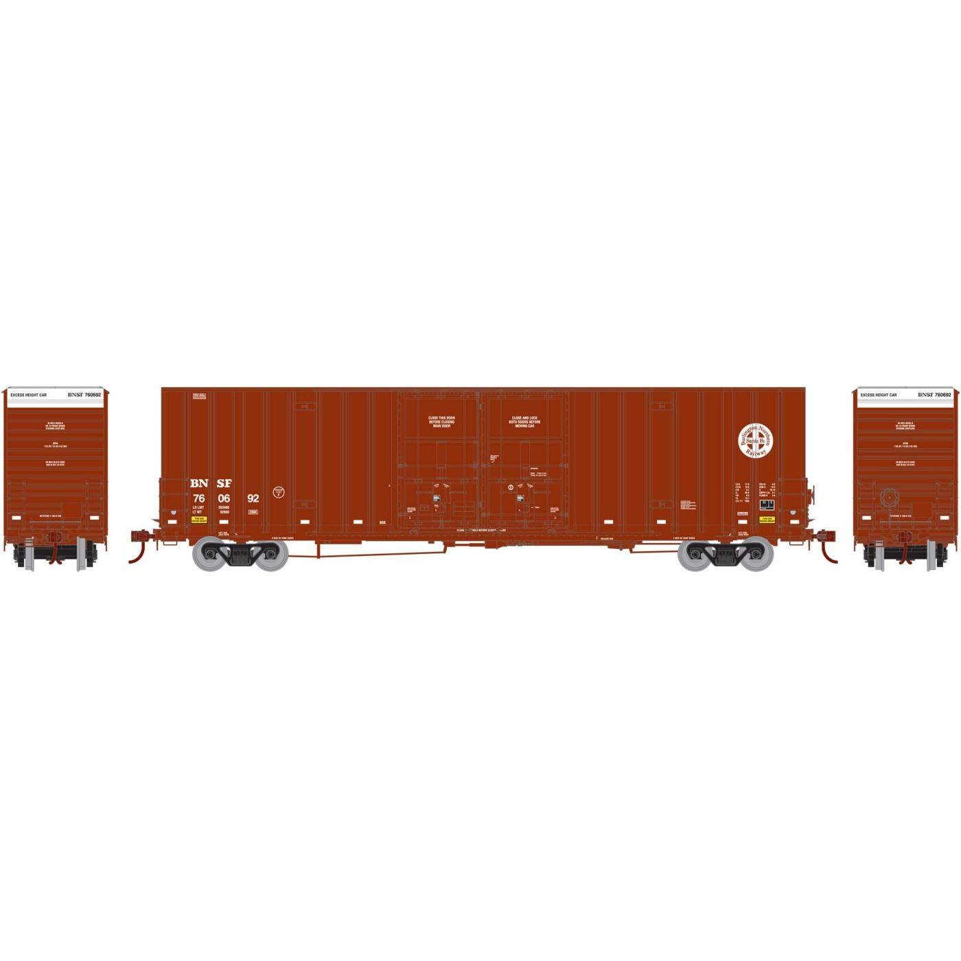 【超歓迎された】 Athearn 60フィート 鉄道#2 HO RTR 60フィート B07JMKKM8M Gunderson DD HC ボックス BNSF 鉄道#2 B07JMKKM8M, sanctum:db577cce --- sinefi.org.br