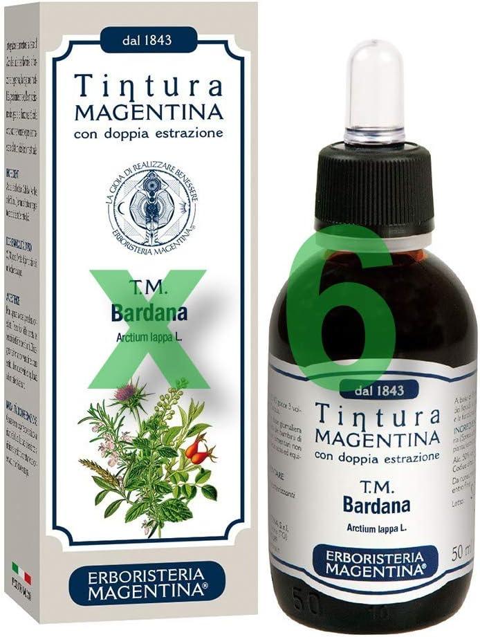 Erboristeria Magentina - Bardana - Tinte de color magenta, 50 ...