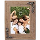 Prinz Cara Wood Frame with Scroll Attachments, 8 x