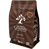 "Sacred Grounds, Organic""Sacred Blend"" Whole Bean Decaf, 250g"