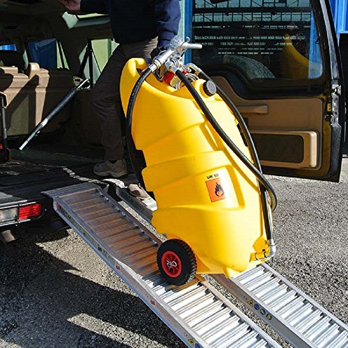 Portable Fuel Tank Diesel or DEF (14.5 gallons) by Emiliana Serbatoi