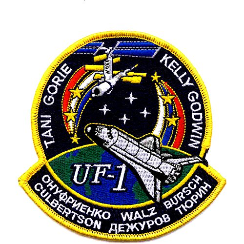 SP-143 NASA STS-108 Space Shuttle Endeavour Mission To Iss Patch ()