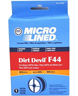 Dirt Devil Vacuum Cleaner F44 HEPA Filter; Replaces Dirt Devil Part # 304019001 (3