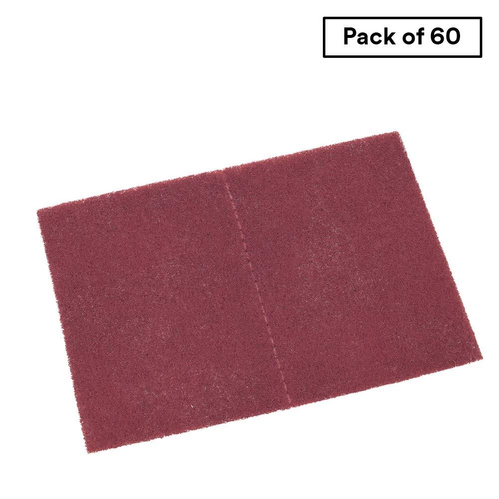 Scotch-Brite Hand Pad PRO - 7447B - Premium Sanding Pad - 9'' x 6'' - Aluminum Oxide - Bulk Pack of 60 by Scotch-Brite