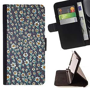 Dragon Case- Caja de la carpeta del caso en folio de cuero del tir¨®n de la cubierta protectora Shell FOR Samsung Galaxy S3 MINI I8190- Love Flower