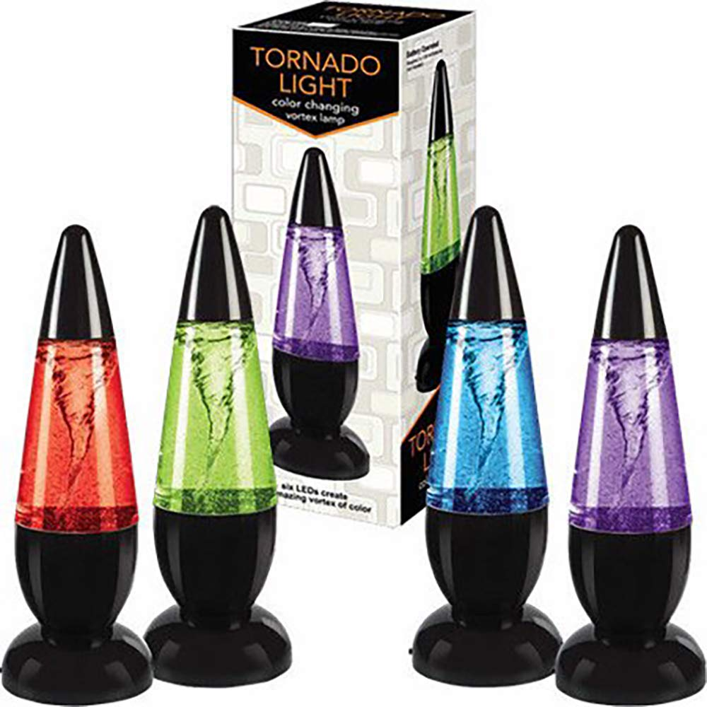 Master Toys Tornado Light LED Relaxing Mood Night Lamp Novelty Kids Gift (One Only Changes in Color)