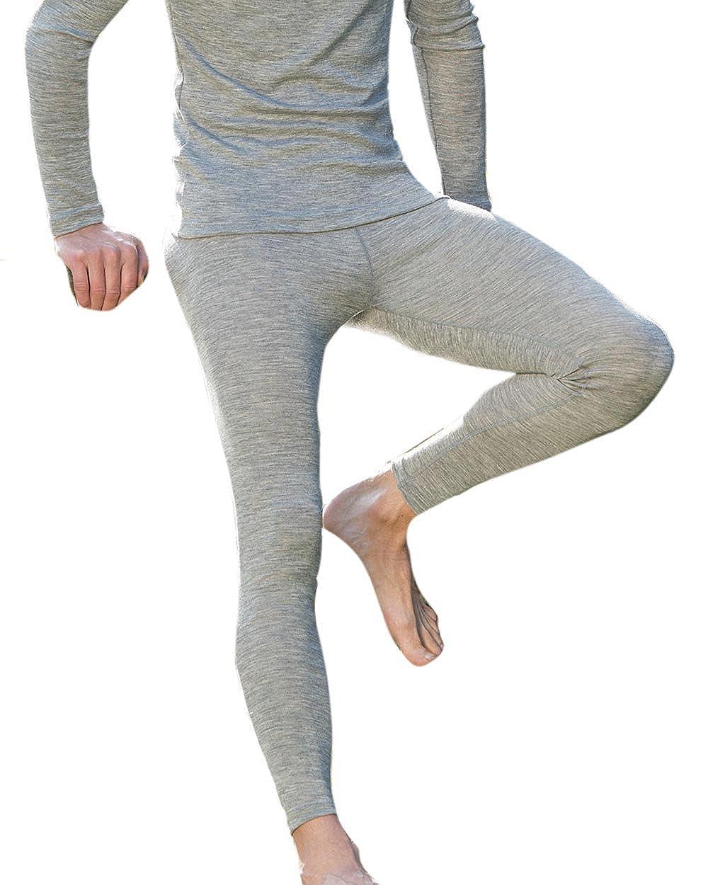 Engel, Men's Thermal Leggings, 70% Organic Merino Wool, 30% Silk Men's Thermal Leggings 701900