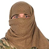 Camcon Sniper Veil Scarf, One Size Fits Most, Desert Tan