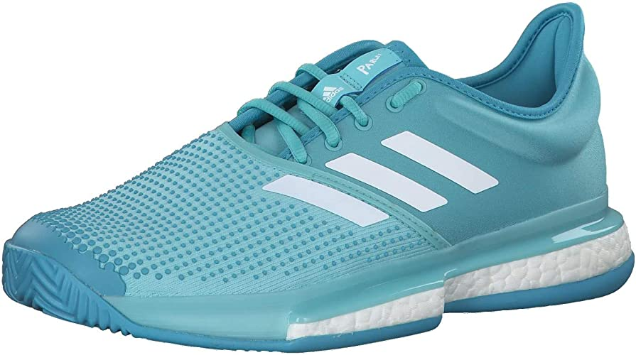Silla Universidad Hectáreas  adidas Men's Solecourt Boost M X Parley Tennis Shoes: Amazon.co.uk: Shoes &  Bags