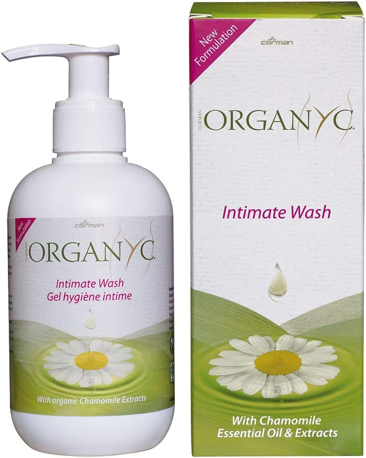 Organyc Intimate Wash for Sensitive Skin, 8.5 Fluid Ounce: Health & Personal Care