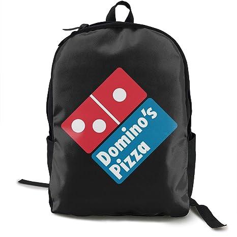 09f55c7726c3 Amazon.com: KOSFA Domino's Pizza Backpacks Anti Theft Shoulder Bags ...