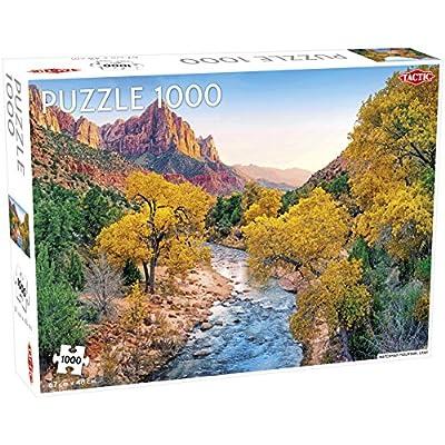 Tactic 55243 Watchman Mountain Puzzle Da 1000 Pezzi Multicolore