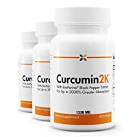 Stop Aging Now - Curcumin2K Formula with BioPerine Black Pepper Extract for Up to...