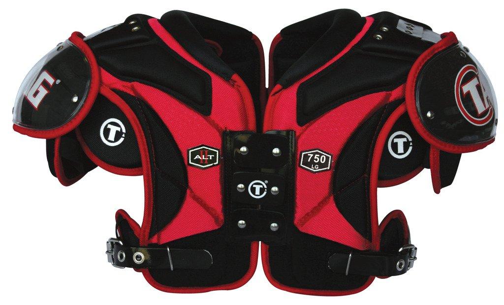 タグAlt II 750 Football Shoulder Pad for Runningバック、Defensiveバック、フルバック、ラインBacker最大保護、最大Mobility B00YHTA61S  4XL-Large