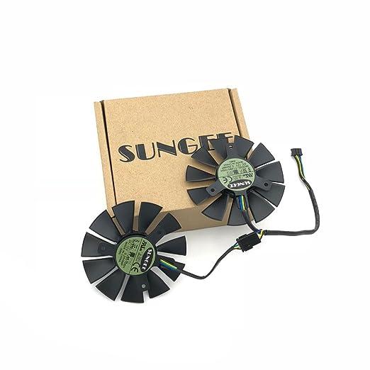 Amazon.com: t128010sh 12 V 0,25 A 75 mm. VGA ventilador para ...