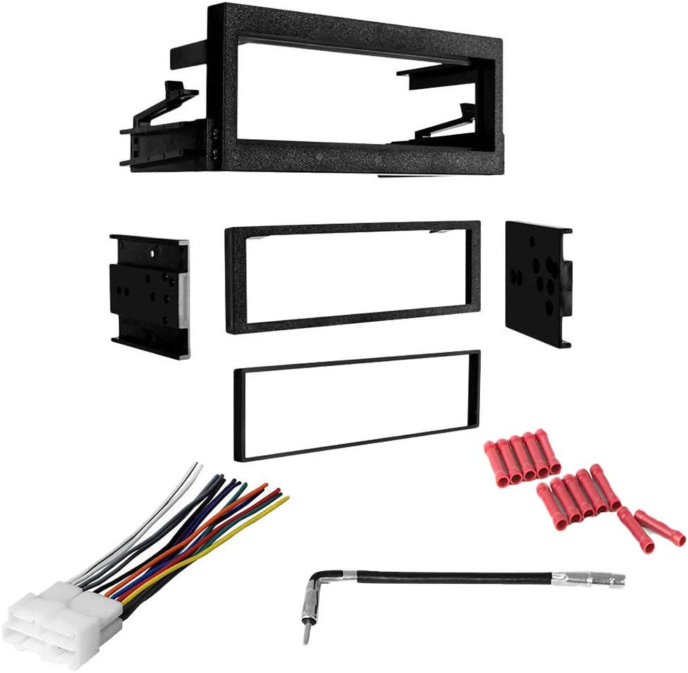 CACHÉ KIT860 Bundle with Car Stereo Installation Kit for 1995 – 1999 Chevrolet C1500 Suburban – in Dash Mounting Kit, Harness, Antenna Adapter for Single Din Radio Receivers (4 Item)