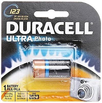 Duracell Ultra Lithium Photo Battery (123), 3 Volt
