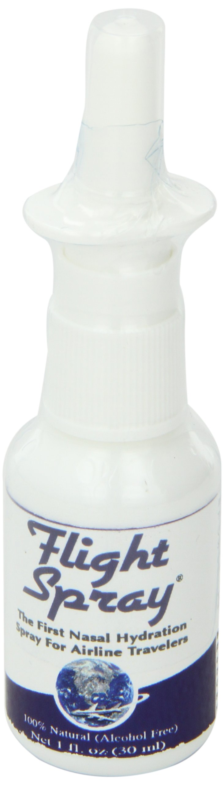 Flight Spray, Nasal Hydration Spray, 1 Ounce Bottle by Bioponic Phytoceuticals