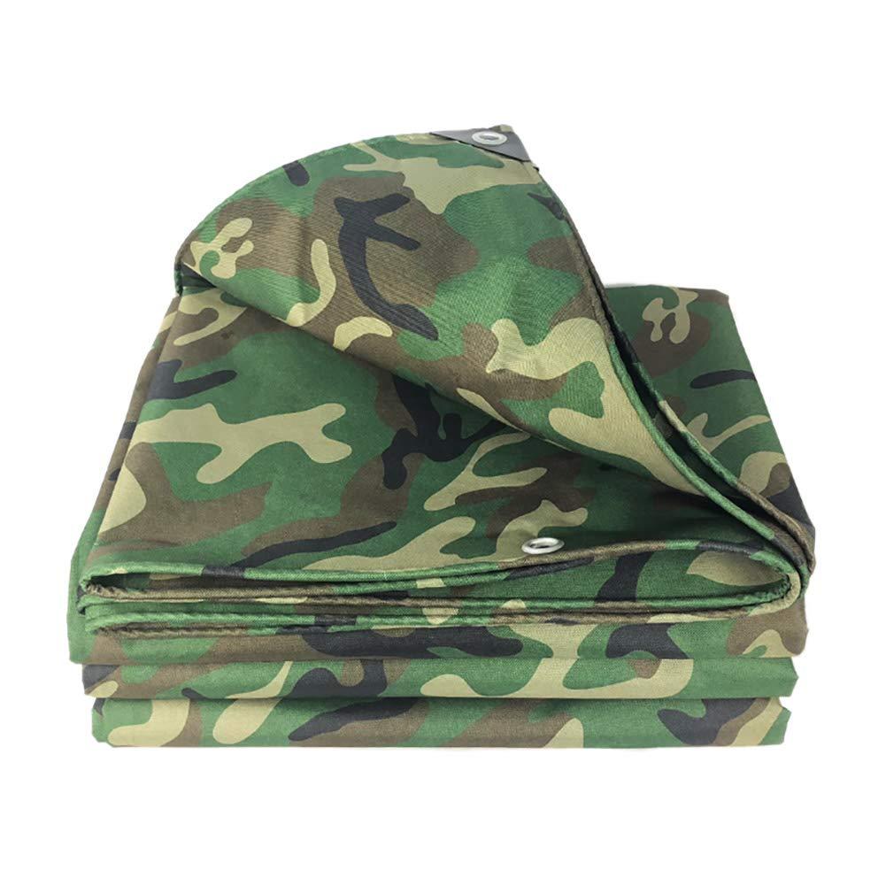 WDXJ Tenda Resistente al Doppio Strato Impermeabile Camouflage, Telo Resistance Tetto Antivento Addensata al Panno Oxford, 420 g m² (Dimensioni   2X3m)
