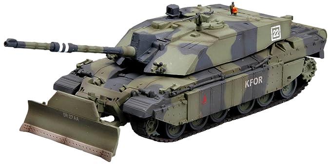 4b46b13466aa Amazon.com  Easy Model British Challenger II Kosovo 1999 Die Cast ...