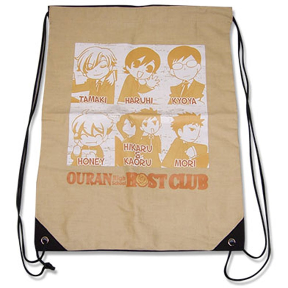 String Backpack - Ouran High School - New Group Draw Sling Bag ge11619 B00JL3IW1G