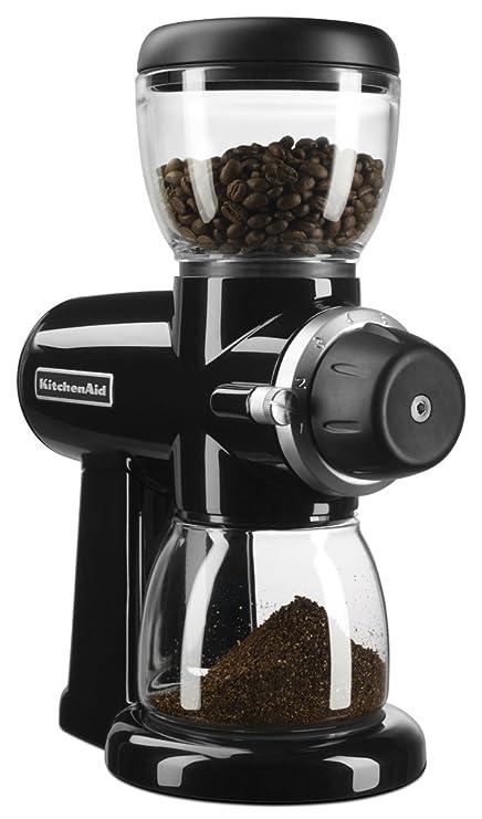 Amazon Com Kitchenaid Kcg0702ob Burr Coffee Grinder Onyx Black Beauty