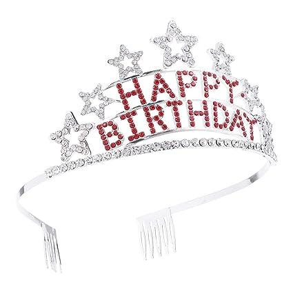 Princesa diadema linda fiesta novia corona Hairbands ...