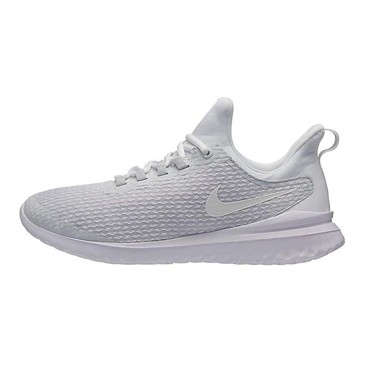 f7562f7a992 Galleon - NIKE Men s Renew Rival Running Shoe Pure Platinum White (10.5)