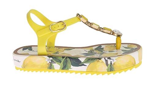 77ac48b1a Dolce   Gabbana Lemon Crystal Beachwear Sandals  Amazon.co.uk  Shoes ...