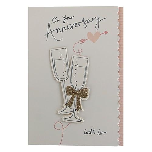 Hallmark Wedding Anniversary Gifts: Wedding Anniversary Card: Amazon.co.uk