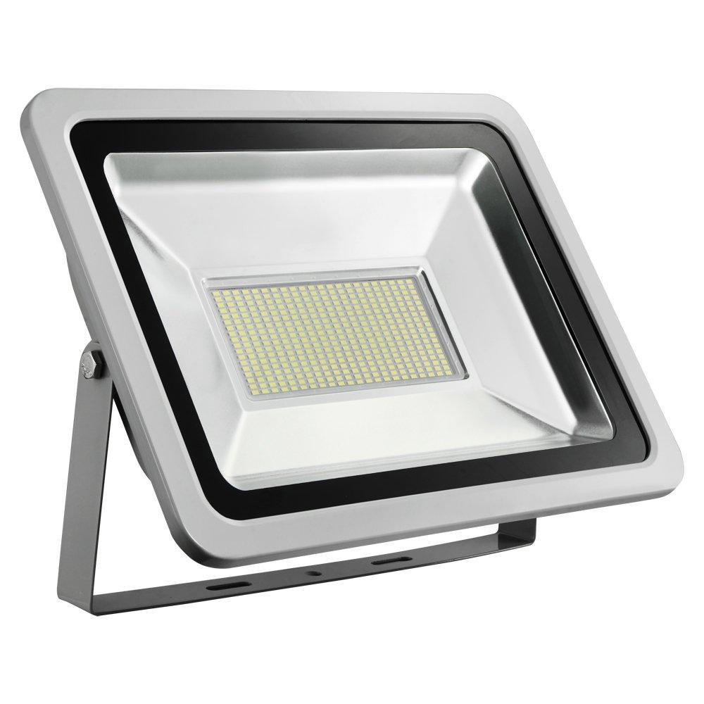 migliore vendita Proiettore LED da 200 200 200 W, per esterni, super luminoso, IP65, impermeabile, luce bianca fredda, 2 pezzi  più ordine