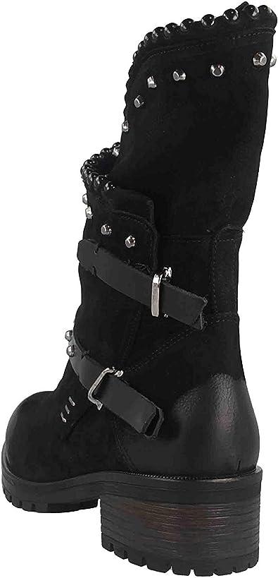 Baboos Stiefel in Übergrößen Schwarz 50.04 166 120-153 große Damenschuhe