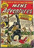 Men's Adventure #4 1950-Atlas-pre-code horror-giant ape-rare issue-G/VG
