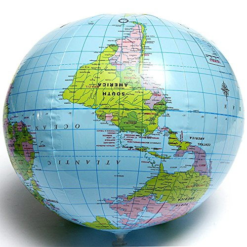 SSXY Globe terrestre interactif Globe Carte Globe Globe terrestre Carte PVC Anglais