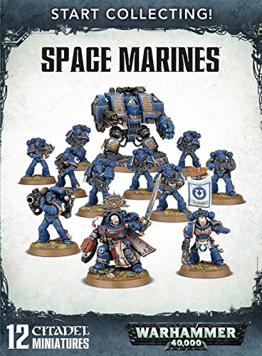 Games Workshop Warhammer 40,000 Start Collecting! Space Marines Miniatures