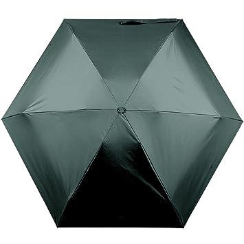 nielado Ultralight paraguas de viaje, UPF 50 + Sol UV paraguas fuerte viento paraguas lluvia