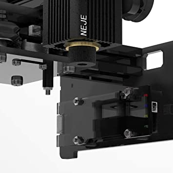 neje Scanner Logo Marking Printer for Metal Engraving and Timber Engraving TOPQSC 20000 CNC Laser Engraving Machine de Gravure Mini Desktop Laser Engraver Support Win7 //8//10 // XP//Android APP