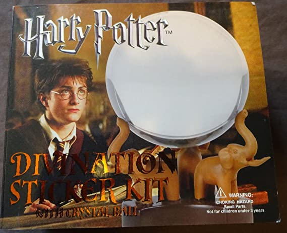 Amazoncom Harry Potter Stamps Sticker Kit With Crystal Ball Orb