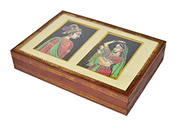 Amazon Com Shri Surya Handicrafts Indian Traditional Antique Wooden