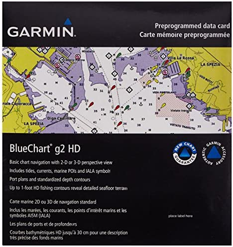 Garmin BlueChart g2 Southeast Caribbean Saltwater Map microSD Card