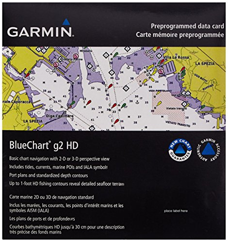 Garmin BlueChart g2 Southeast Caribbean Saltwater Map microSD Card by Garmin