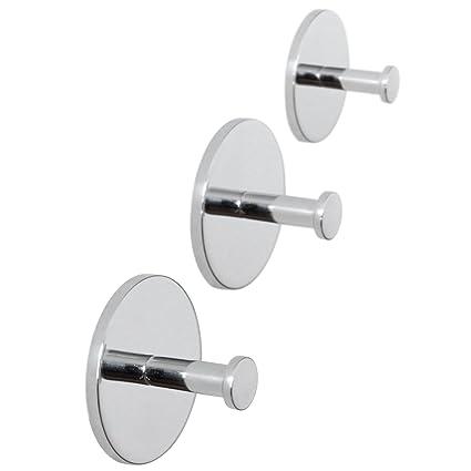 Amazon.com: ToiletTree Products 3 Rust Proof Shower Hooks, Use ...