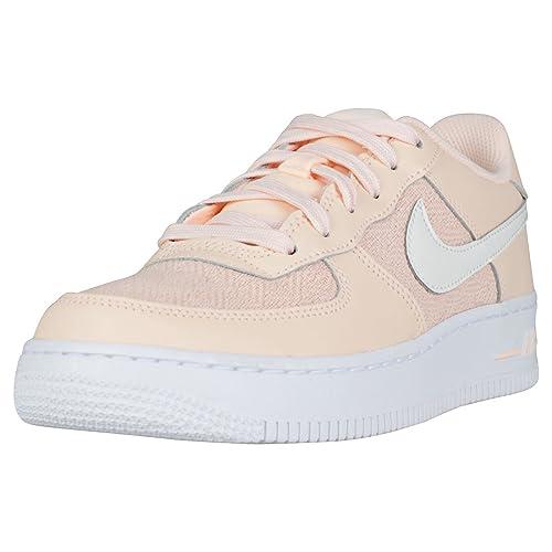 Nike Air Force 1 LV8 (GS) Crimson Tint/Sail White: Amazon.es: Zapatos y complementos
